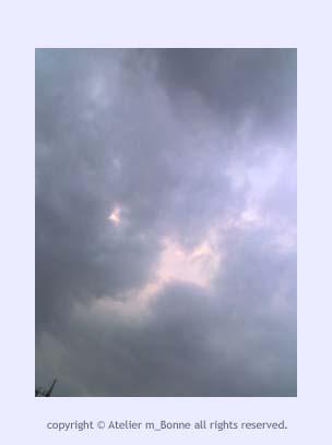 あやしい雲行き
