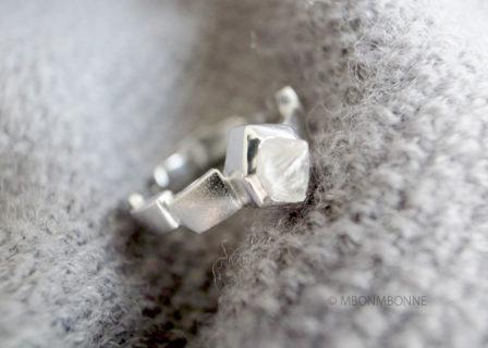 Bague RHYTHM Diamant Brut